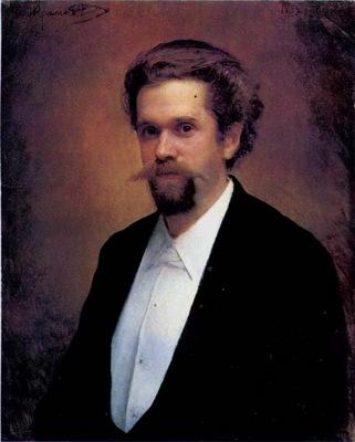 Portrait of the Cellist S Ya Morozov