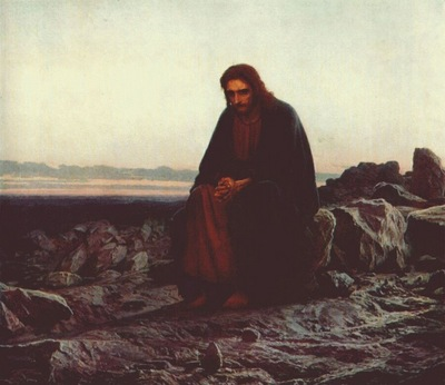 kramskoi christ in the wilderness