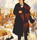 kustodiev portrait of chaliapin