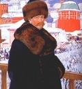 kustodiev self portrait