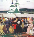 kustodiev the fair
