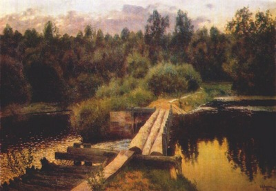 levitan deep waters