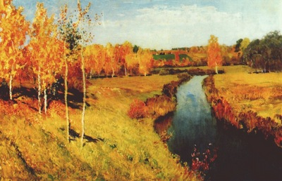 levitan golden autumn