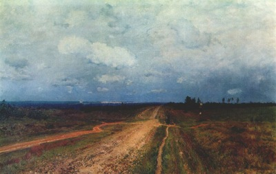 levitan the vladimirka road