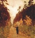 levitan autumn day, sokolniki park