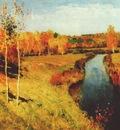 levitan golden autumn