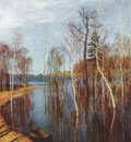 levitan spring flood