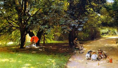 Makovshy Konstantin In a park Sun
