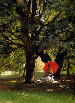 Makovshy Konstantin In a park detail Sun