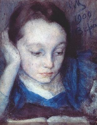 malyutin portrait of the artists daughter