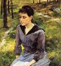 Maximov Vasily Girl with book Sun