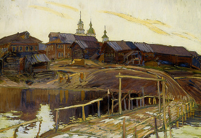 Perepletchikov Vasily Porog village on the Onega Sun