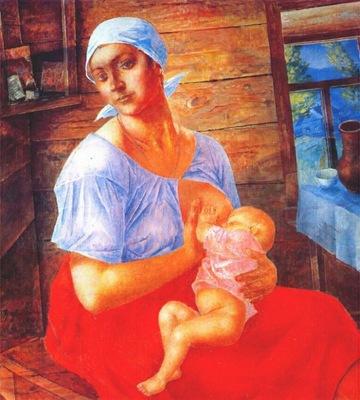 petrov vodkin mother