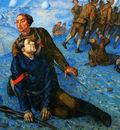 Petrov Vodkin Kuzma Death of a commisar Sun