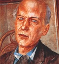 petrov vodkin portrait of andrei bely