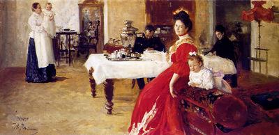 Repin Ilya The artists family Sun