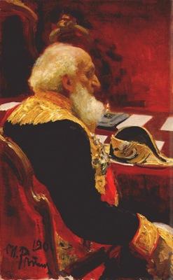 repin portrait of semenov tian shanskii