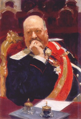 repin portrait study of count ignatiev