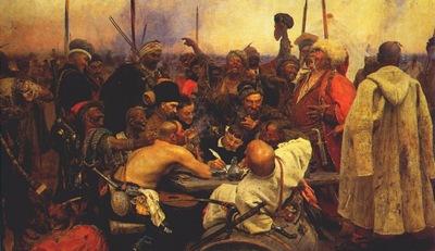 repin zaporozhian cossacks 1880