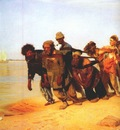 repin volga boatmen detail 1870