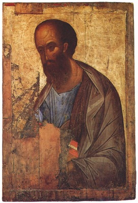 rublev st paul the apostle 1410s