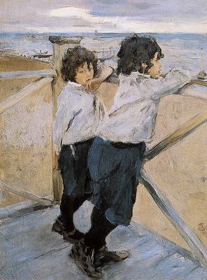 Serov Valentin Children