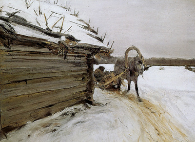 Serov Valentin Winter Sun