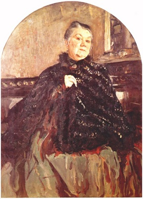 serov the actress glikeria fedotova