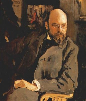 serov the artist ilya ostroukhov