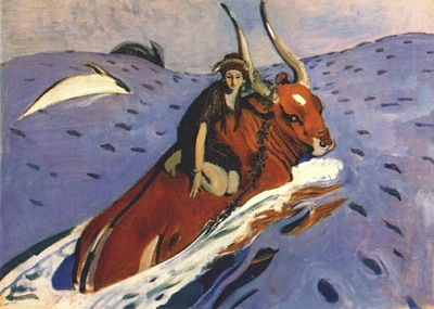 serov the rape of europa