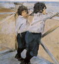 Serov Valentin Children