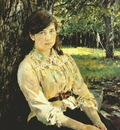 serov girl in sunlight