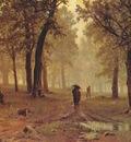 shishkin rain in an oak forest