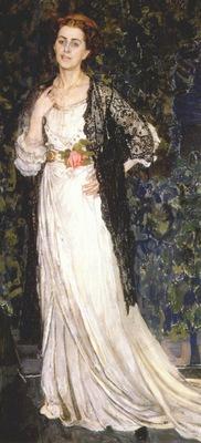golovin portrait of marina makovskaya