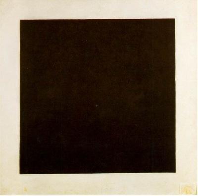 Malevitj Black square [1913] 1923 29, State Russian Museum,