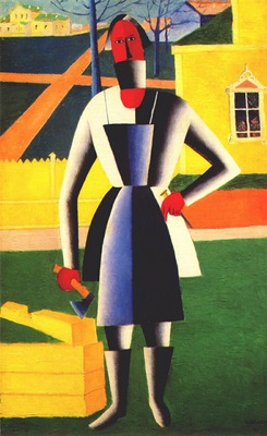 malevich carpenter 1928