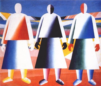 malevich girls in the field c1928
