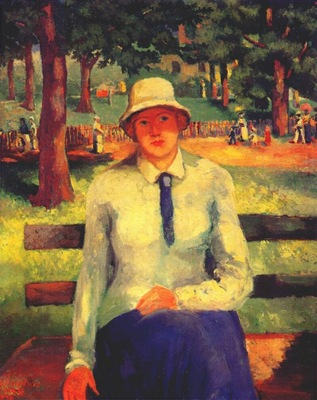 malevich jobless girl c1930