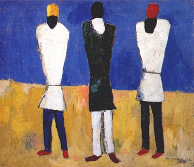 malevich peasants c1928