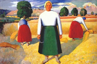 malevich reapers c1929