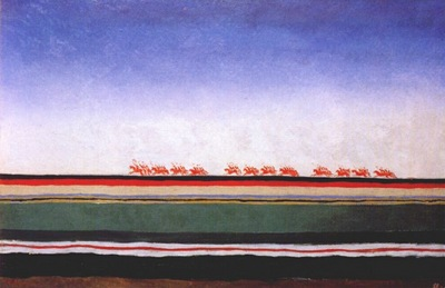 malevich red cavalry 1930