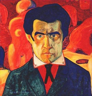 malevich self portrait i c1908