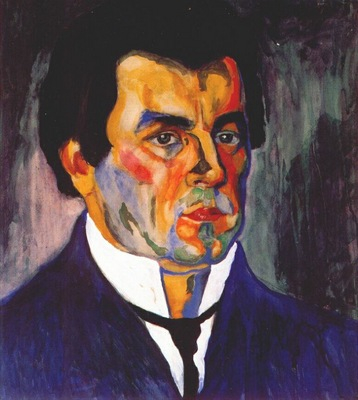 malevich self portrait ii c1908