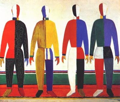malevich sportsmen 1928