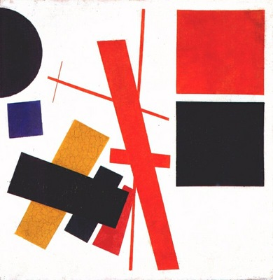malevich suprematism non objective composition