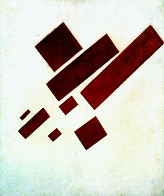 malevich suprematist painting 8 red rectangles