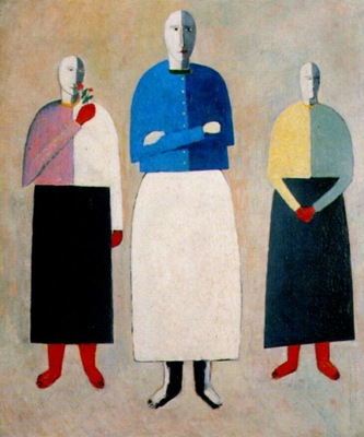 malevich three women 1928