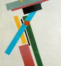Malevitj Suprematism 1915, State Russian Museum, St  Petersb