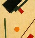 Malevitj Suprematist composition 1915, Fine Arts Museum, Tul