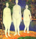 malevich bathing women dated